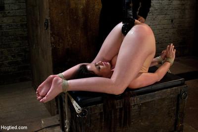 Jennifer white in bdsm strip bondage turned loves coming slut