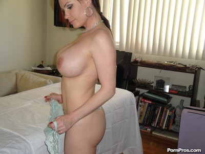 Busty milf gets massaged and fucked