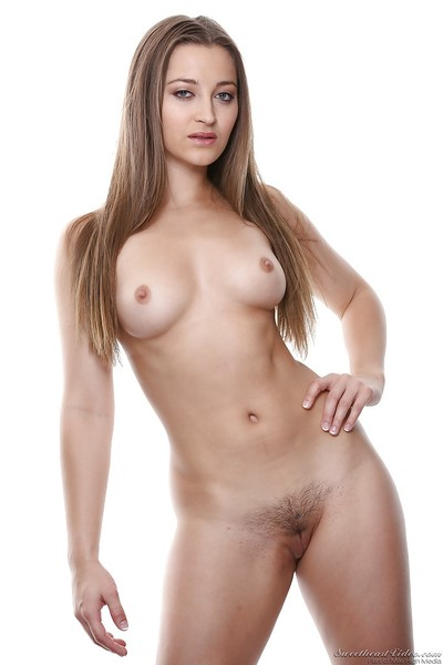 Pretty model with  pussy Dani Daniels slipping off her clothes