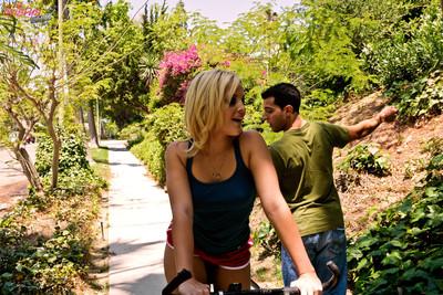 Alexis texas bike dive turns into naughty getting pleasure