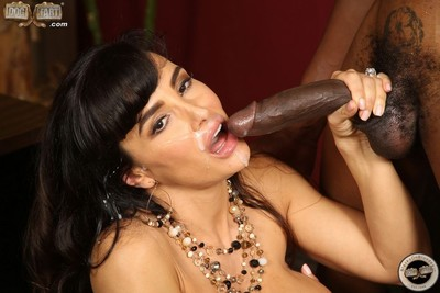 Curvy milf lisa ann in interracial anal on bigcock