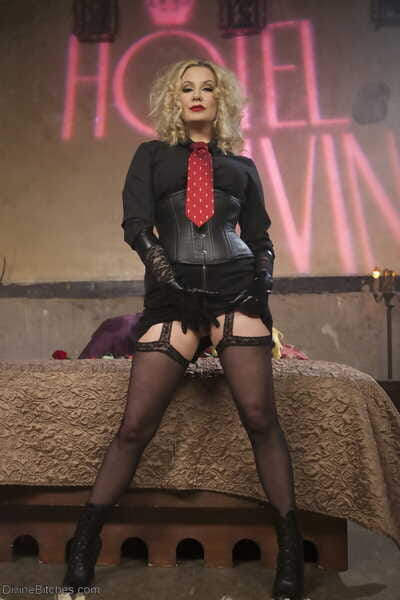 Divine Bitches Maitresse Madeline Marlowe- Tony Orlando- Will Havoc