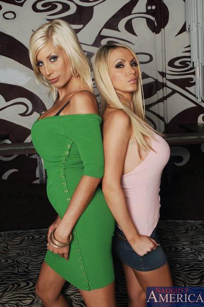 Puma swede and nikki benz slurp on one together