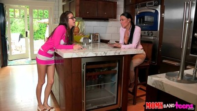 Vanilla deville teaches april and her friend banging