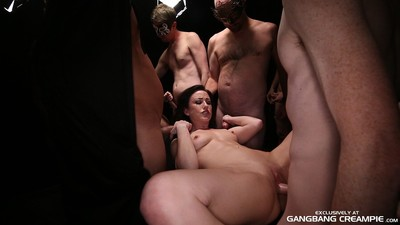 Jennifer white group sex creampie