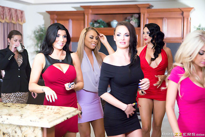 Brazzers house with all pornstars