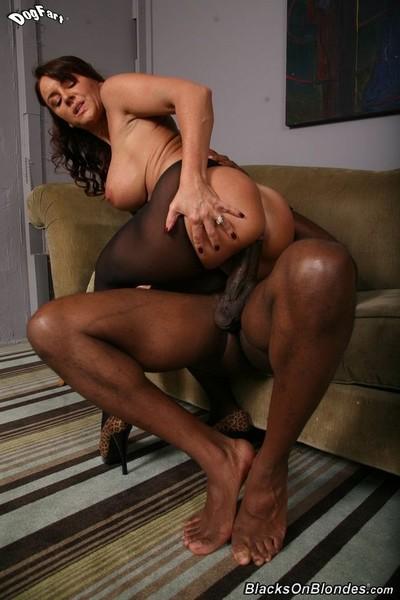 Busty milf janet mason in interracial hardcore sex