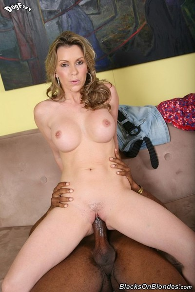 Fairy-haired courtney cummz on huge black pecker in action