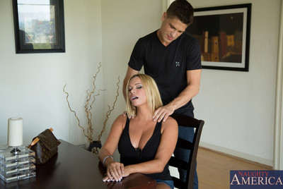Briana banks takes out all of her stress by very
