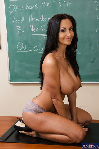 European educator Ava Addams has a amateur method of teaching