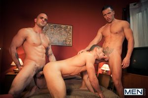 In chum around with annoy final scene of Men.coms hit series, Hotel X, chum around with annoy spying concierge Damien Crosse gets anent on chum around with annoy action! After being discovered by Dato Foland, Damien joins anent and after some oral dissemb