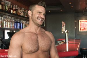 Landon Conrad gets taken down increased by edged at a bar in broad daylight
