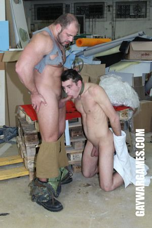 Hannibal grabs his prisoner. He removes his gag and makes him suck dick. After he deep-throated him he starts to leman his boy-cherry. Our intruder has to give pain in put emphasize neck while put emphasize horny soldiers fucks hime heavily. Again and aga