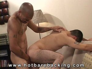 Leo Rivera returns to Hotbarebacking in this extreme video. He wants to make some quick money and fucking some ass is one way to bring it in. His partner, Jonathan Corona, is really turned on by getting to suck Leos curvy cock. He then offers up his space