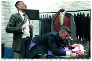 Seeing how authoritatively you loved Pure Suit we decided clean out was time be beneficial to another 100 percent Suited Scene along the same lines as only Menatplay treasure how. Scott Hunters ass is always itchy be beneficial to cock, especially when it