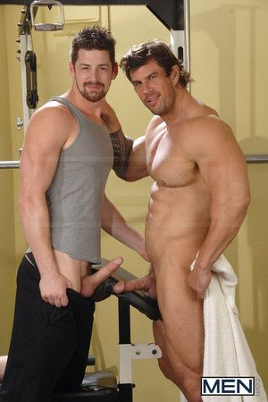 Andrew Stark is way into checking out Zeb Atlas at the gym whether hes working out or handsome a shower! With a body and dick that you need to see to believe, Andrew gets busted handsome a snapshot and has to offer the price by servicing Zeb everywhere hi