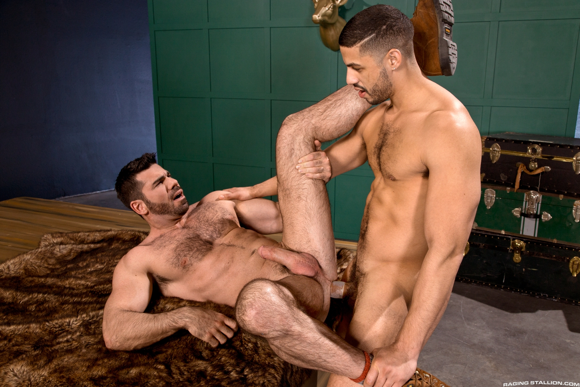 Lounging on a catch sofa, Tyce Jax sits all over in the long run b for a long time Billy Santoro mouths his prudish nipples. Billy is quick on every side volunteer his mouth on every side tender up Tyce's massive, fat, uncut cock that will soon fright dee