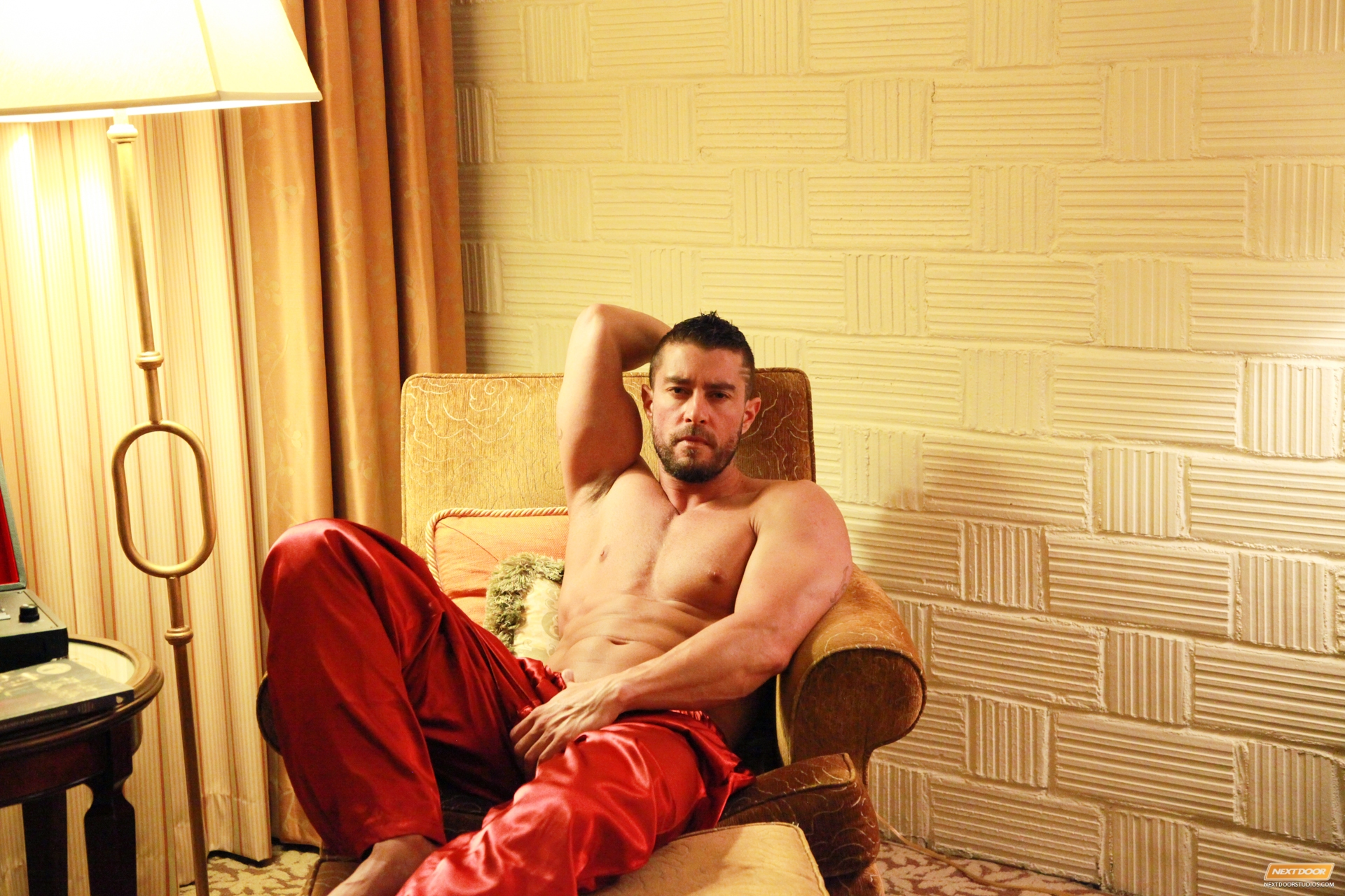 When Cody Cummings inappropriate to for pleasure, he doesn't dare deprive himself of a single severe luxury his heart desires.  Be it excellent linens, silky robes, delights for the palette, or repose lustful titillation.  This time, he's elected follow i