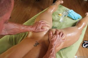 Slay rub elbows with dirty masseur scores yet alternate nuisance