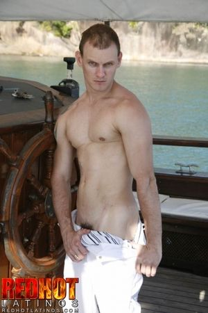 Christian is ripped, tattooed, and an exhibitionist from the word go. Hes also the complaisant of beggar youd probably want to suck off in the sauna at the gym. Outside of Christian is all about doing it outdoors. While lounging on his boat, Christian dec