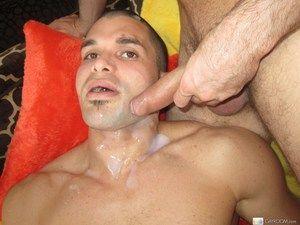 Tight gay toff enjoying a monster schlong