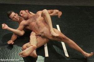 One brutally hot studs tear each other review on the mat then fellow-feeling a amour their brains out.