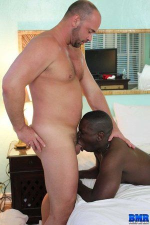 Daemon Sadi has been begging Tyler Reed to fuck him just like he fucked all the other bottom boys at the resort. After hours of shaking his black bubble butt, Tyler gave him what he wanted: some thick, white, Daddy dick! Daemon got uppish knees and follow
