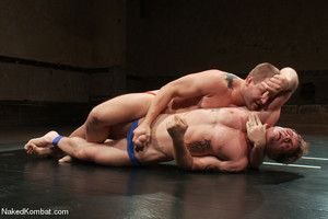 In his last porn shoot ever, Trent Diesel takes on rugby athlete Colby Jansen