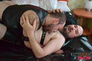 Jack Redford and Tom Forrest put on the dirtiest dissimulation in this hairy fuckfest video. Top Jack lays overseas big, cuddly, duteous Tom on the bed on rubber sheets no less, what kind of messy fun are they planning for us! and strips him naked and wor