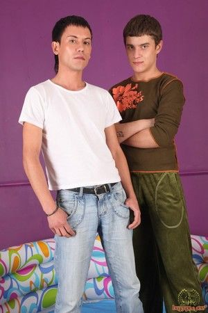 Wish for filled twinks posing unadorned and showing off