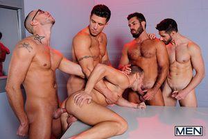 jizz orgy routine 24
