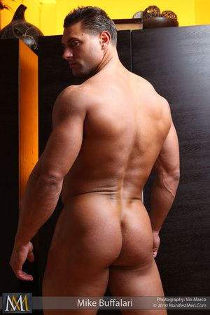 Smooth muscle pest your thing! Mike Buffalari has two hard glutes ready for you to explore.
