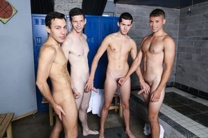 The sleet are full and Blake has to sit this one out until one of the boys is done. Blake is waiting patiently and eventually begins to downwards dreaming of these team a few morose boys rubbing their bodies towards him. He certainly wants to suck all of