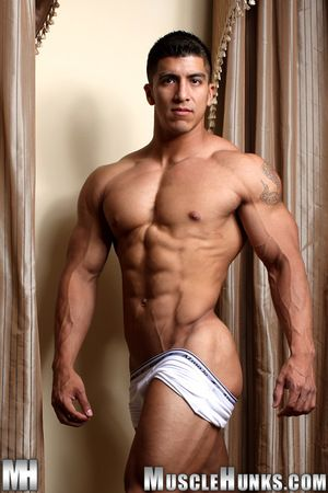 Tall, dark, and handsome - and built like a prexy swindler - powerful new baffle Rip McIntyre delivers a banderole tissue solo for his primary publish on MuscleHunks.com. He s 6 2, long and lean, full be fitting of mischief, with a rippling physique and a