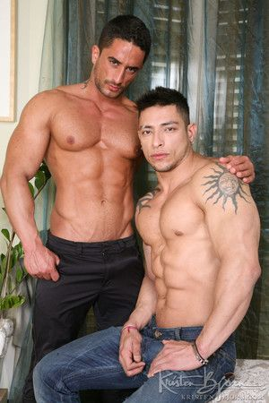 Before they became consequential on film, Julio joined Robin one afternoon to lay eyes on how the chemistry between them was. Robin enjoys the look, feel and taste of Julio perfectly sculpted muscular body and promptly moves to unleash Julio huge, straini
