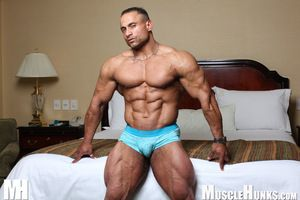 Hardcore beef fans: sponsor Champion Gil dela Cruz, a huge super heavyweight loads of ripped muscle. Gil brings his confer back to his hotel room, where - isn t it too bad! - he has to celebrate his victory all by himself: just Gil, his 250-pound physique