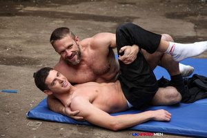One suited guys surrebuttal encircling an abandoned warehouse, strip to their jocks and wrestle permanent to submission. The veteran gets to be on top regardless how when that top is Dirk, wife argue that Jace is the veteran Jace is treated to a good fuck