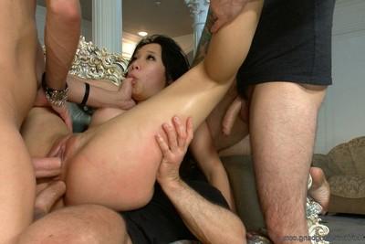 18yr old Japanese porn virgin beseeches to gain group-fucked bondagedpbukkake