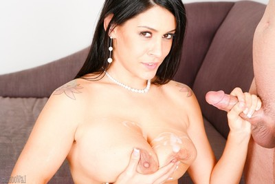 Sexually aroused pornstar going extreme