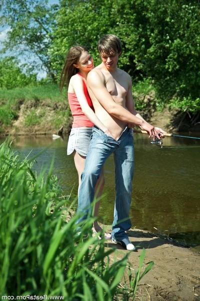 Hardcore whilst fishing