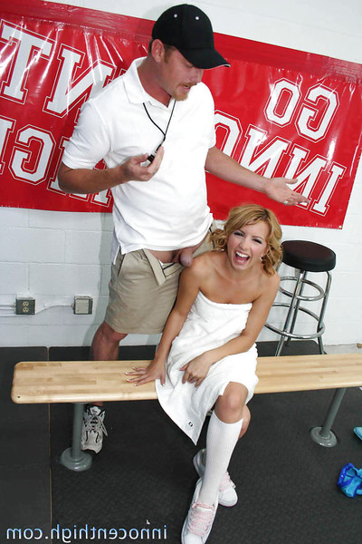 Sexually intrigued schoolgirl Lexi Belle benefits from pounded hard and facialized