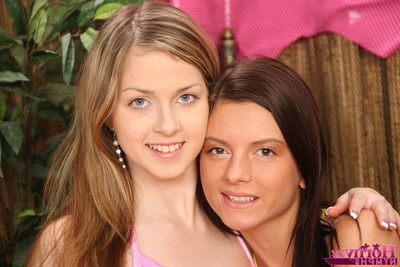 Infant lesbian hotties making out licking uterus and using instrument to jizz