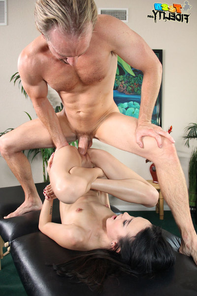 Amai is your sucky sucky queen and gives Ryan the finest massage ever!