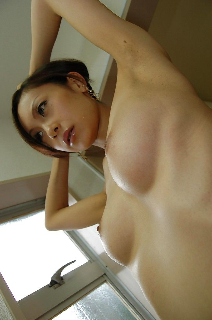 Japanese adolescent Ayane Fukumori makes public her little bends over at the same time as voluptuous bathroom