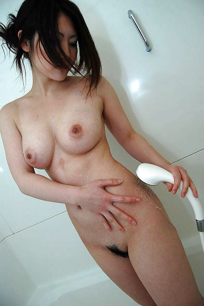 Rounded eastern infant Ayaka Kimura ravishing baths and exposing her love-cage in mediate previously
