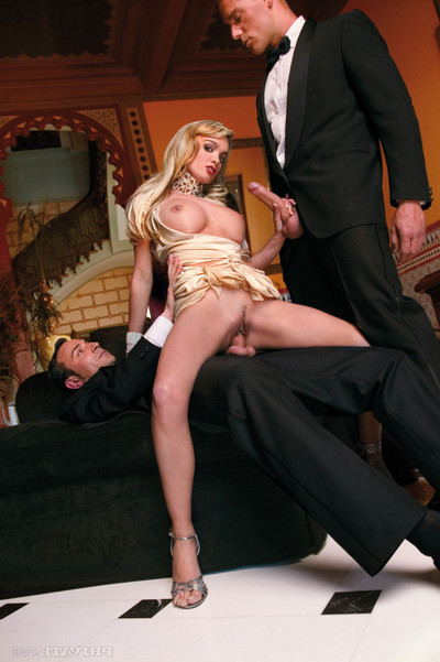 Stunning blond virginie caprice bonked by personal agents