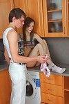 Smoking in the kitchen