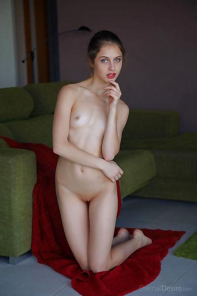 Nude adolescent Clarice A chicos for a photographer comrade who snaps a slit closeup