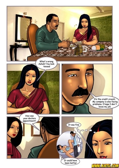 Savita Bhabhi 8 - The Interview