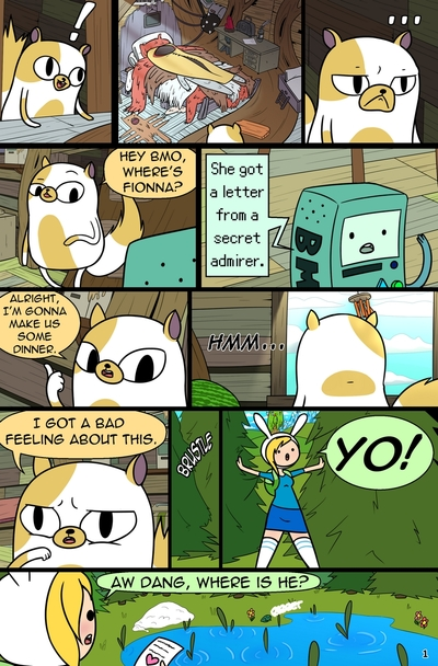 MisAdventure Time Special - The Cat, Thech